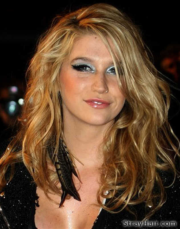 feather hair extensions bunch kesha
