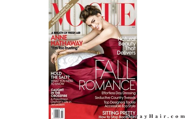 Anne Hathaway cover vogue magazine