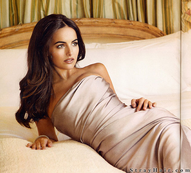 Camilla Belle - Long dark wavy hair
