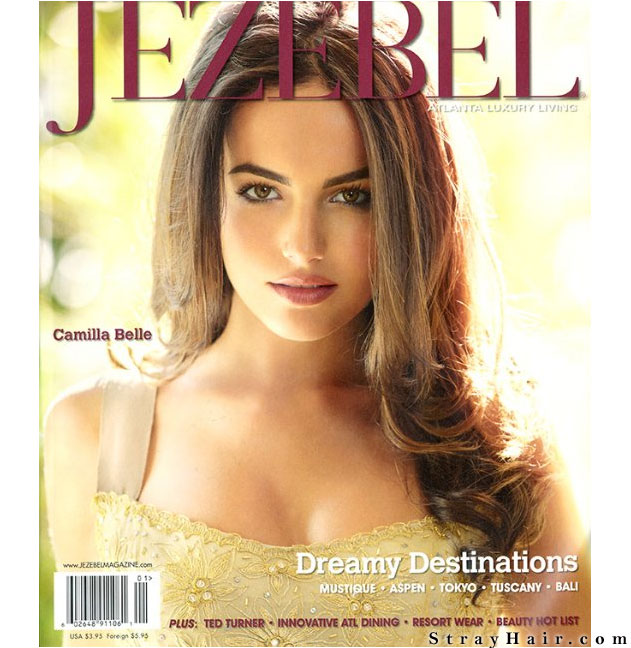 Camilla Belle Jezebel Magazine Cover