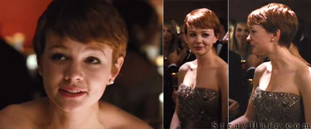 Carey mulligan in wall street hairstyle inspiration