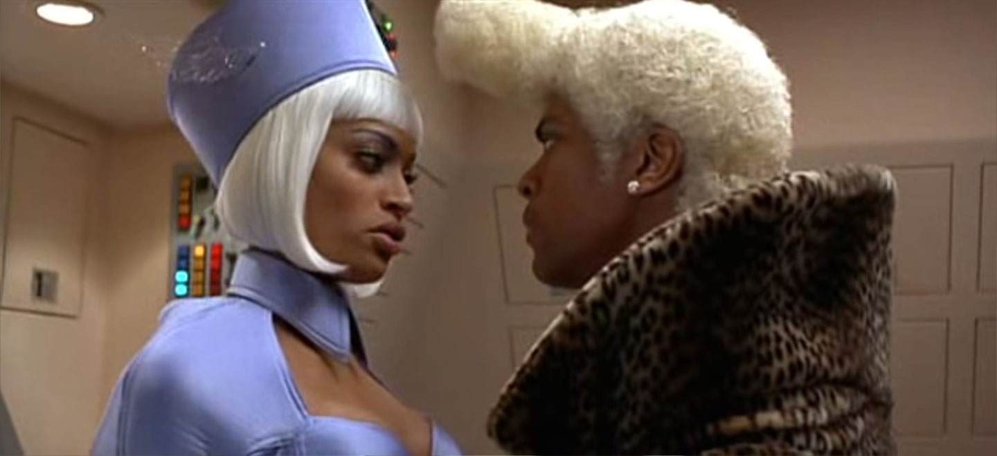 Fifth Element Chris Tucker awesome hairstyle 2