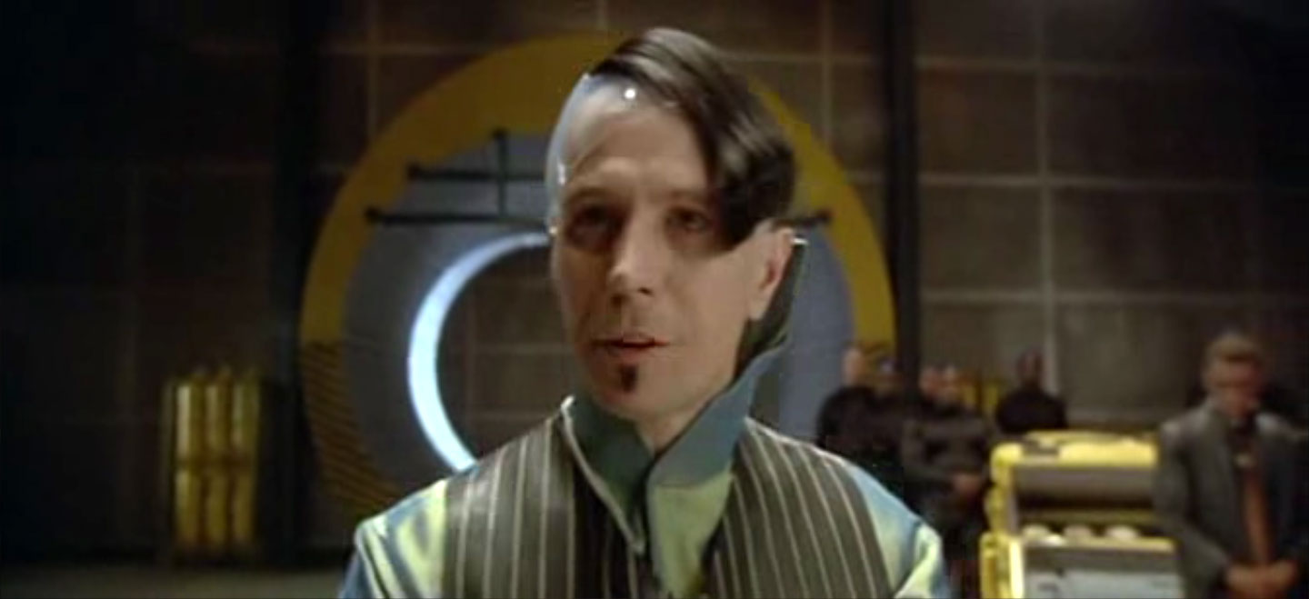 Gary Oldman as Zorg in the fifth element