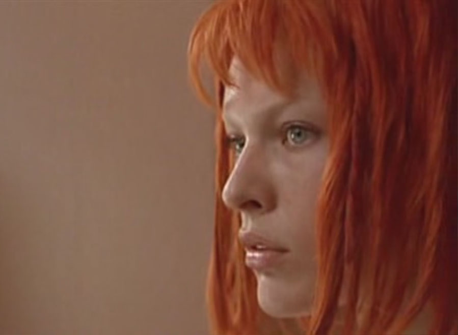 The Fifth Element Hairstyles Amp Color Milla Jovovich
