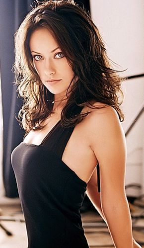 Olivia Wilde long hair model look