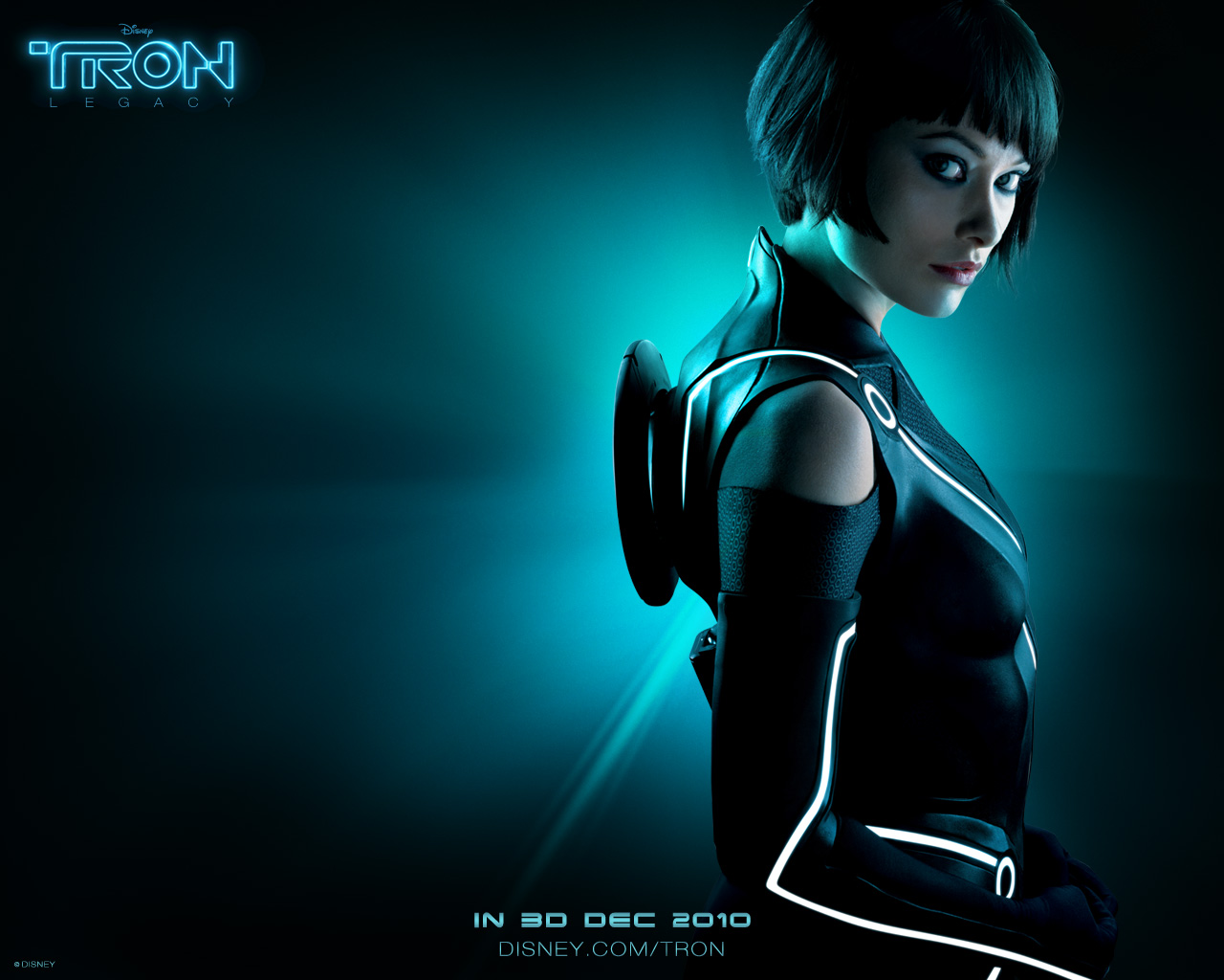 TRON wallpaper quorra hairstyle