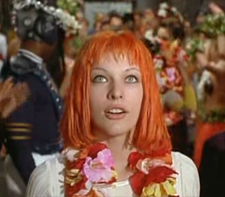 The Fifth Element Hairstyles & Color – Milla Jovovich ...