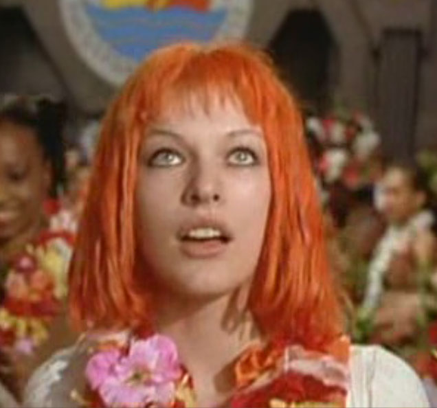 The Fifth Element Hair... Milla Jovovich Age In The Fifth Element
