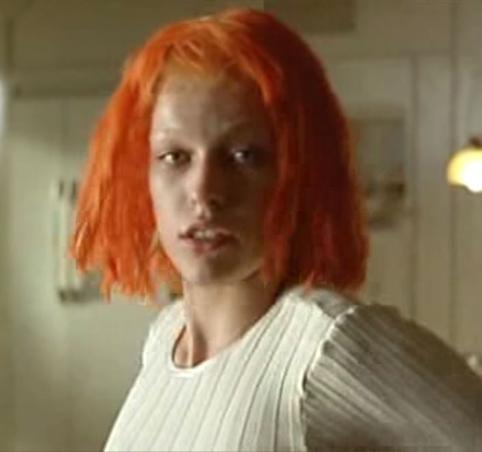 The Fifth Element Hair... Milla Jovovich Photos From The Fifth Element