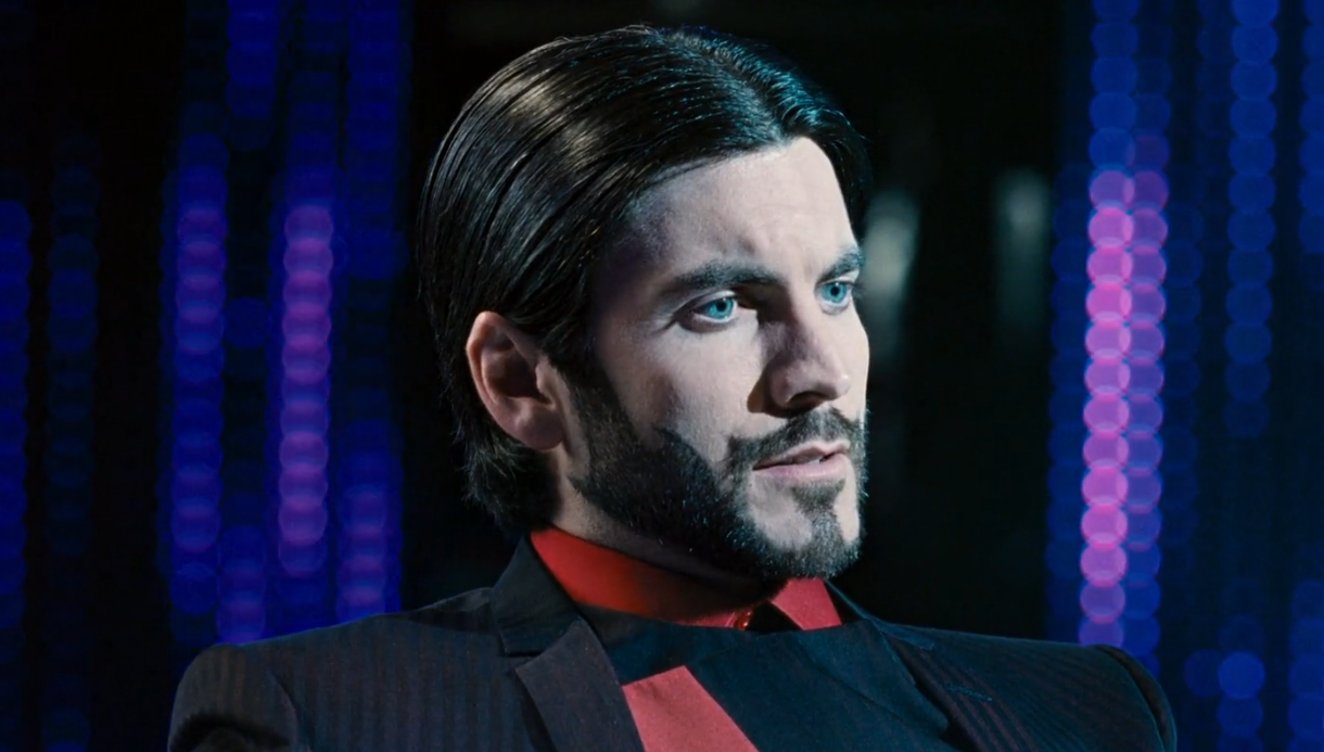 Wes Bentley as Seneca Crane in the hungergames cool facial hair