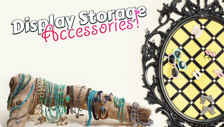 accessories display storage on strayhair