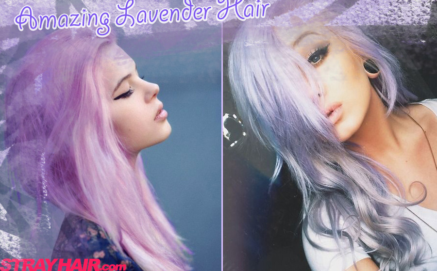 amazing lavendar hair