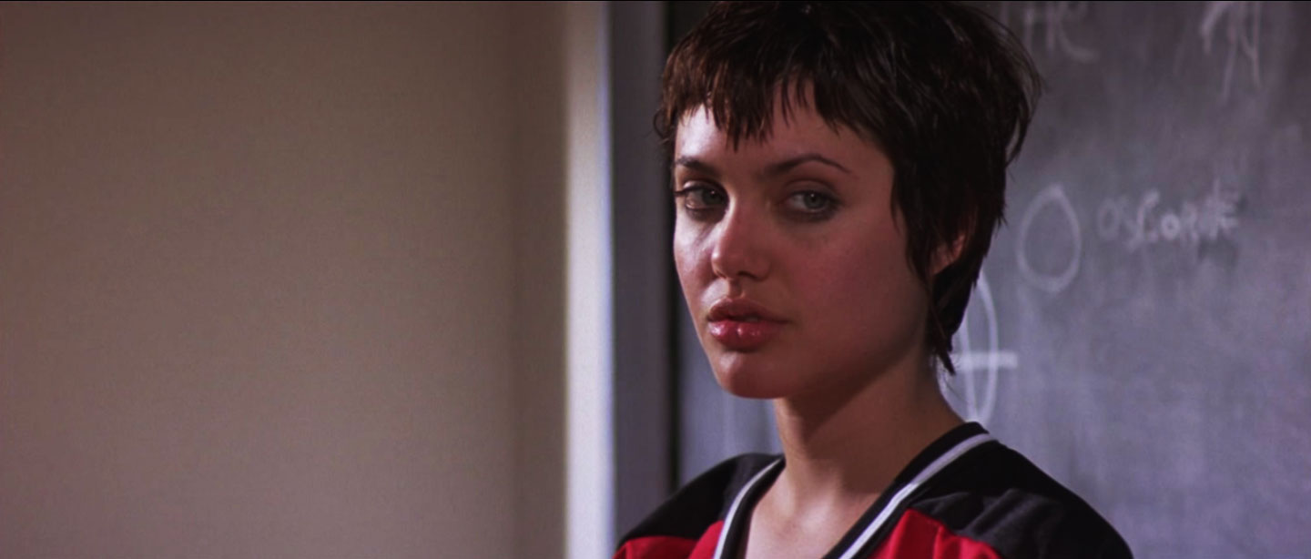 Hackers The Movie Hairstyles 90 S Punk Angelina Jolie