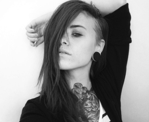 awesome undercut hairstyle
