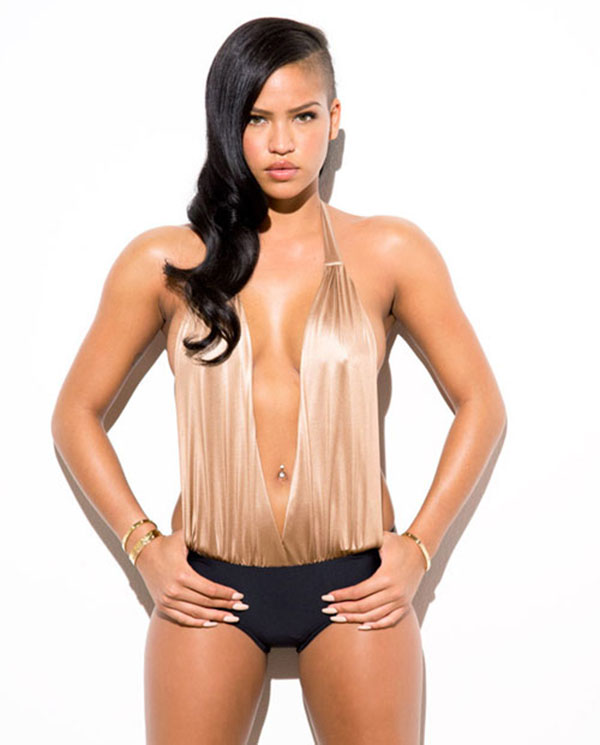 cassie ventura hairstyle in esquire magazine