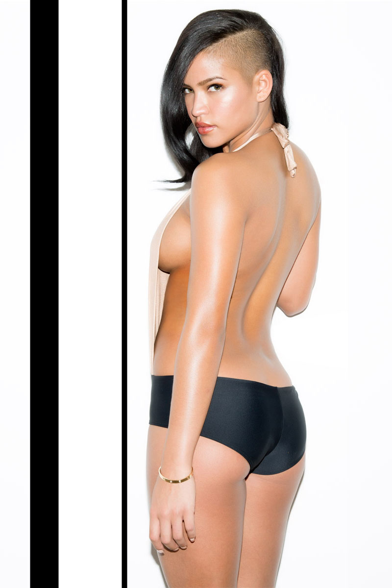 cassie ventura hairstyle in sequire magazine