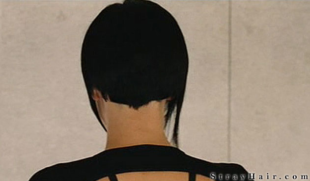 charlize theron aeon flux hairstyle BACK