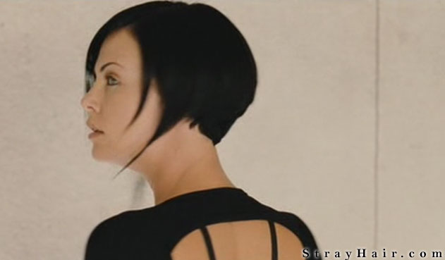 charlize theron aeon flux hairstyle SIDE