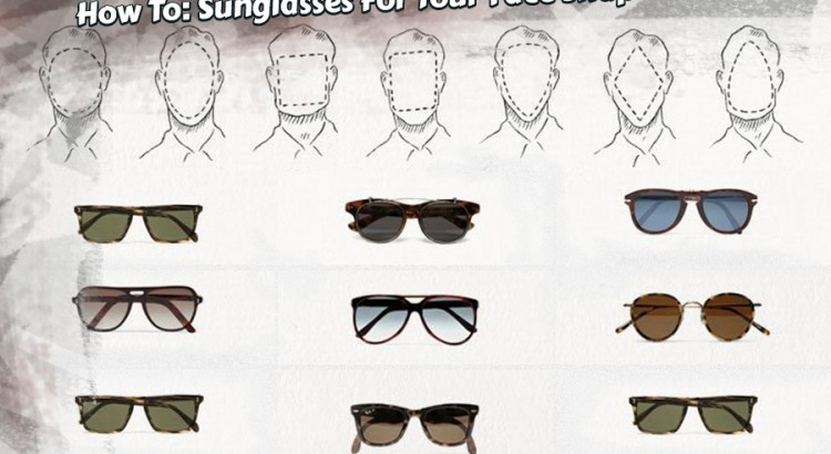 choosing sunglasses for your face shape how to