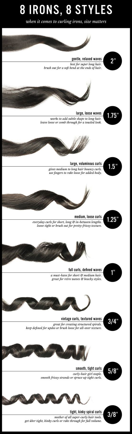 curling iron size does matter