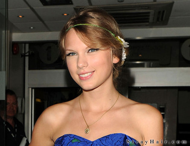 cute hippy hairstyle taylor swift