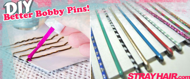 diy better bobby pins nail polish