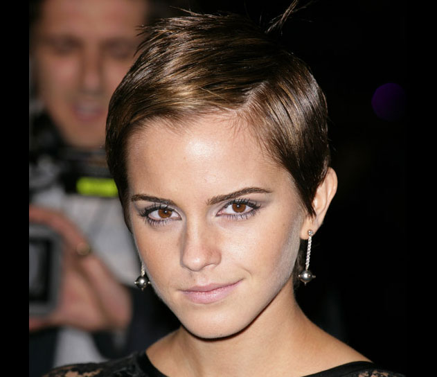 emma watson haircut pixie short hairstyle