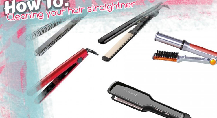 how to clean your hair straightner