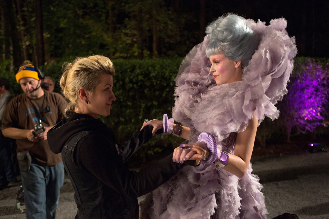 Remarkable The Hunger Games 2 Catching Fire Hairstyles Strayhair Short Hairstyles Gunalazisus