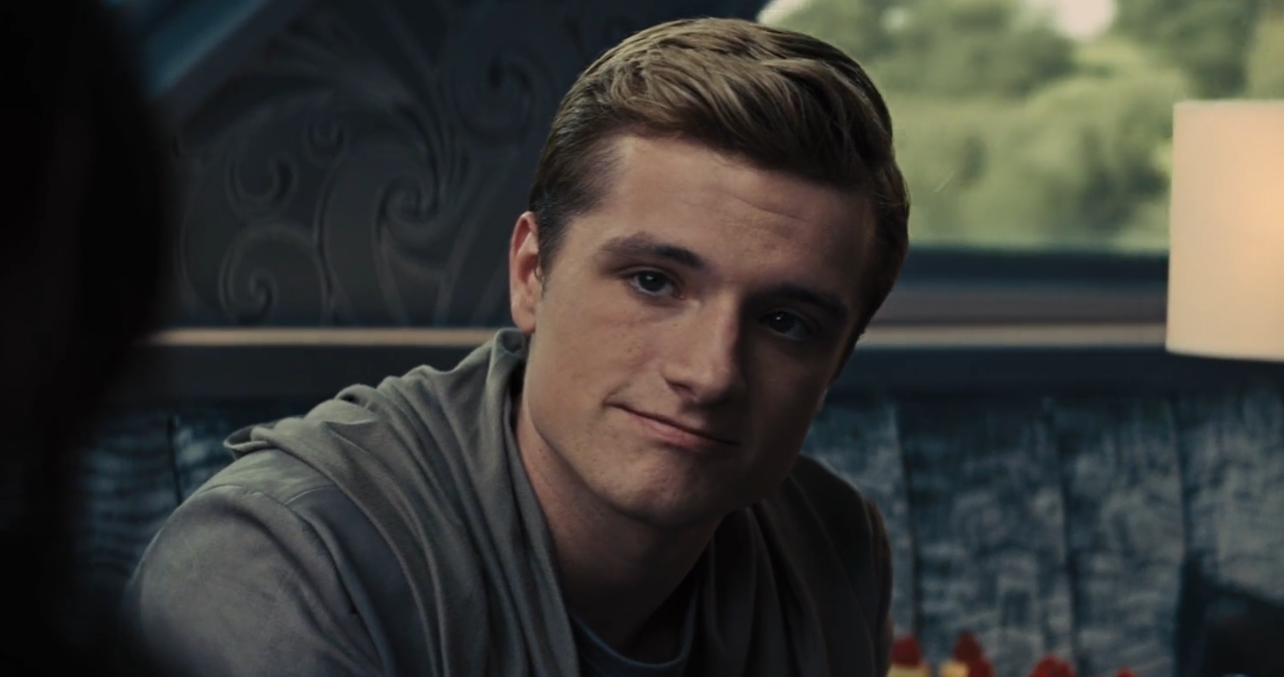 F you, Peeta -_- Ok, no, I love you, please don't ever change