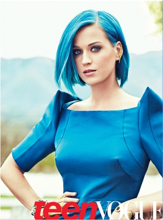 14 pictures of Katy Perry rocking Blue Hairstyles – StrayHair