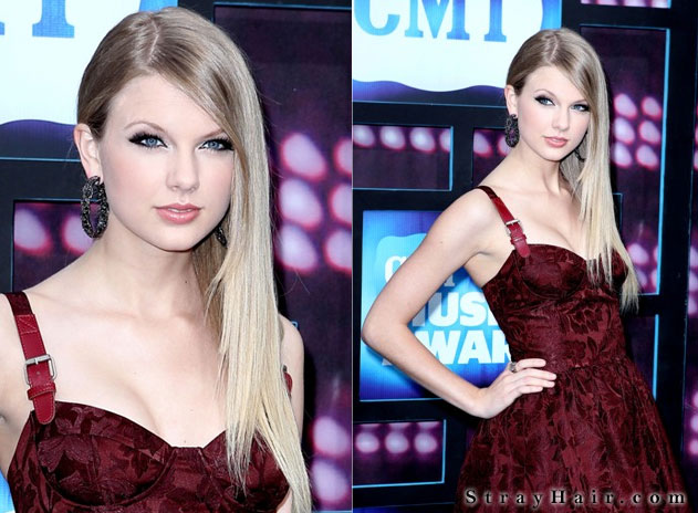 long straight hair taylor swift