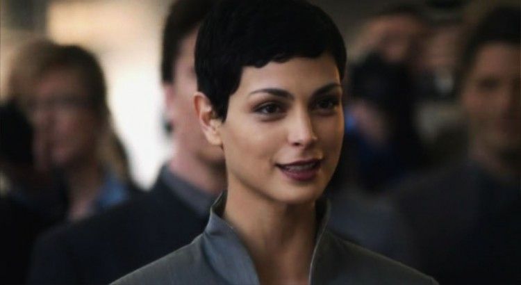 morena baccarin V short hairstyle pixie cut