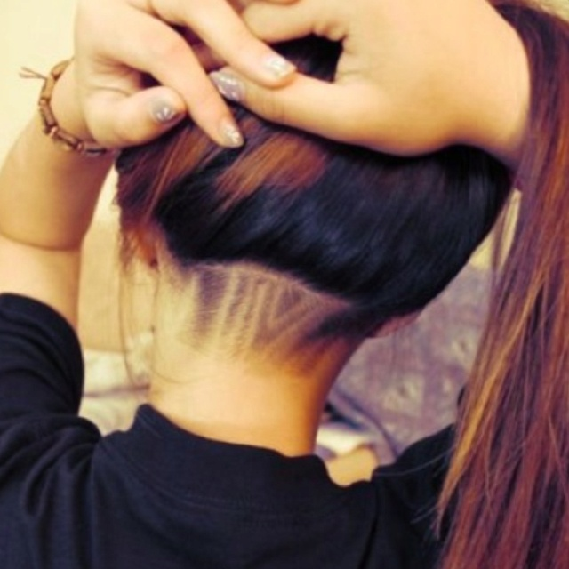 Designer Hairstyle : 12 Nape Undercut Hairstyle Designs