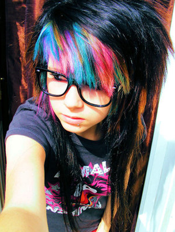 super-multi-color-emo-girl-hair