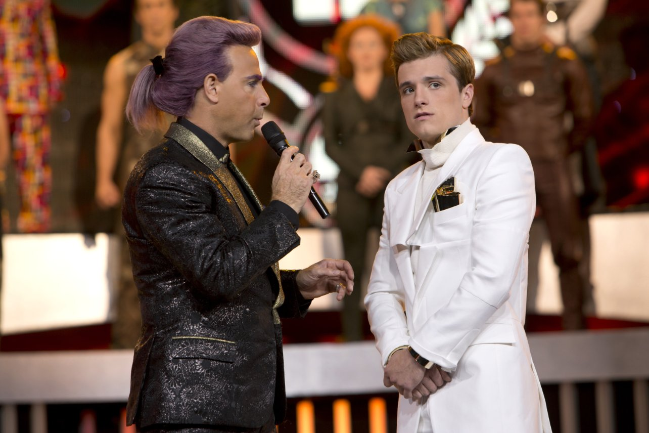 the hunger games hairstyles mens purple hair