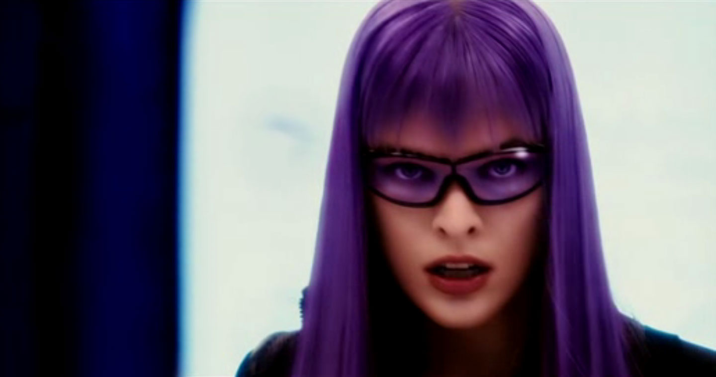 ultravoilet purple hair milla jovovich