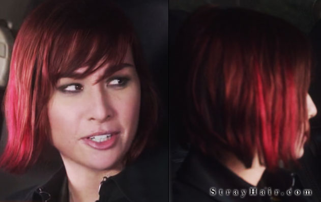 warehouse13 claudia red hair streaks