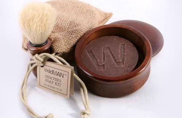wildMAN soap shaving kit