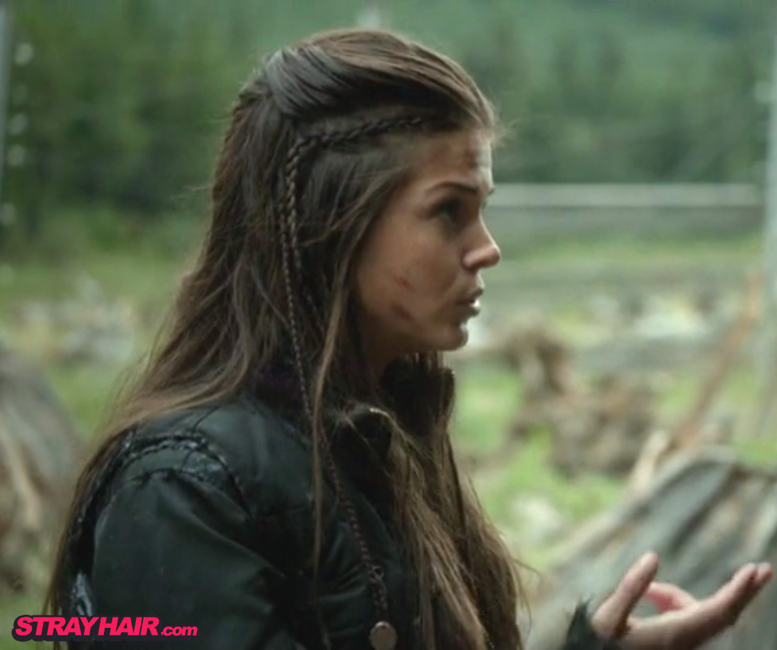 Octavia in The 100 Awesome Hairstyle