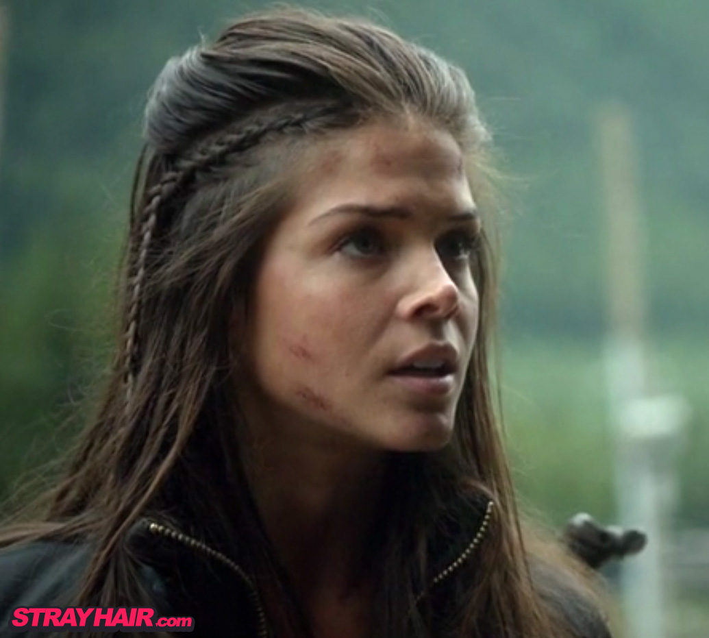 The 100 Marie Avgeropoulos Octavia little side braid Hairstyle