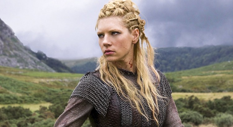 Lagertha Katheryn Winnick Vikings awesome hair