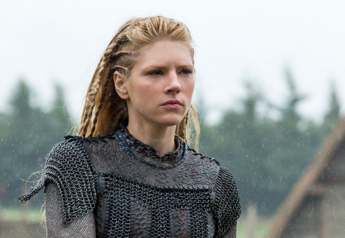 Vikings Katheryn Winnick Lagertha Hair