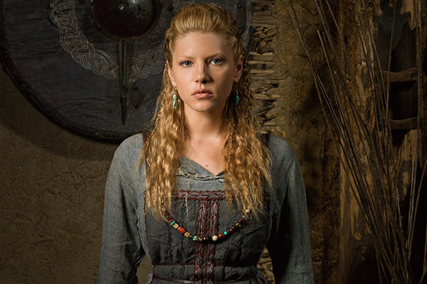 vikings hairstyles Katheryn Winnick lagertha