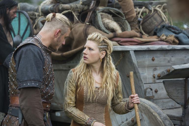 Katheryn Winnick, Lagertha's Hairstyle in Vikings – StrayHair