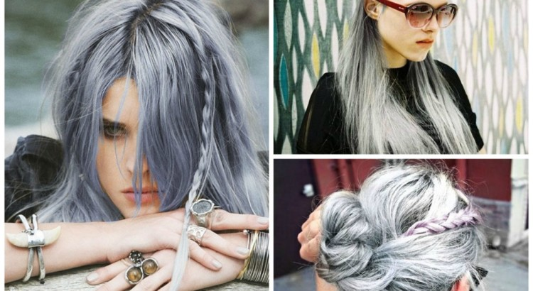 gray with a hint of lavender hairgray with a hint of lavender hair