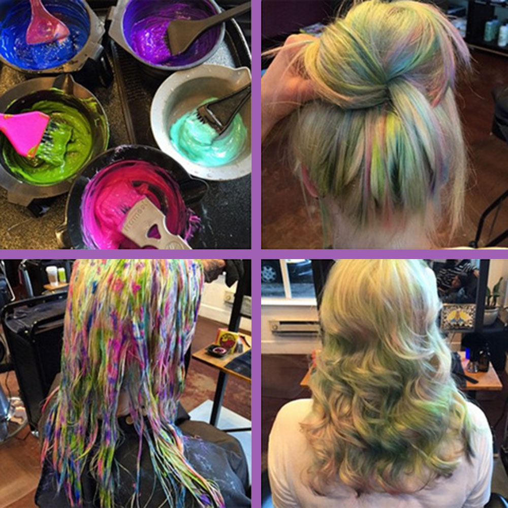 creating opal hair how to dye opal color hair