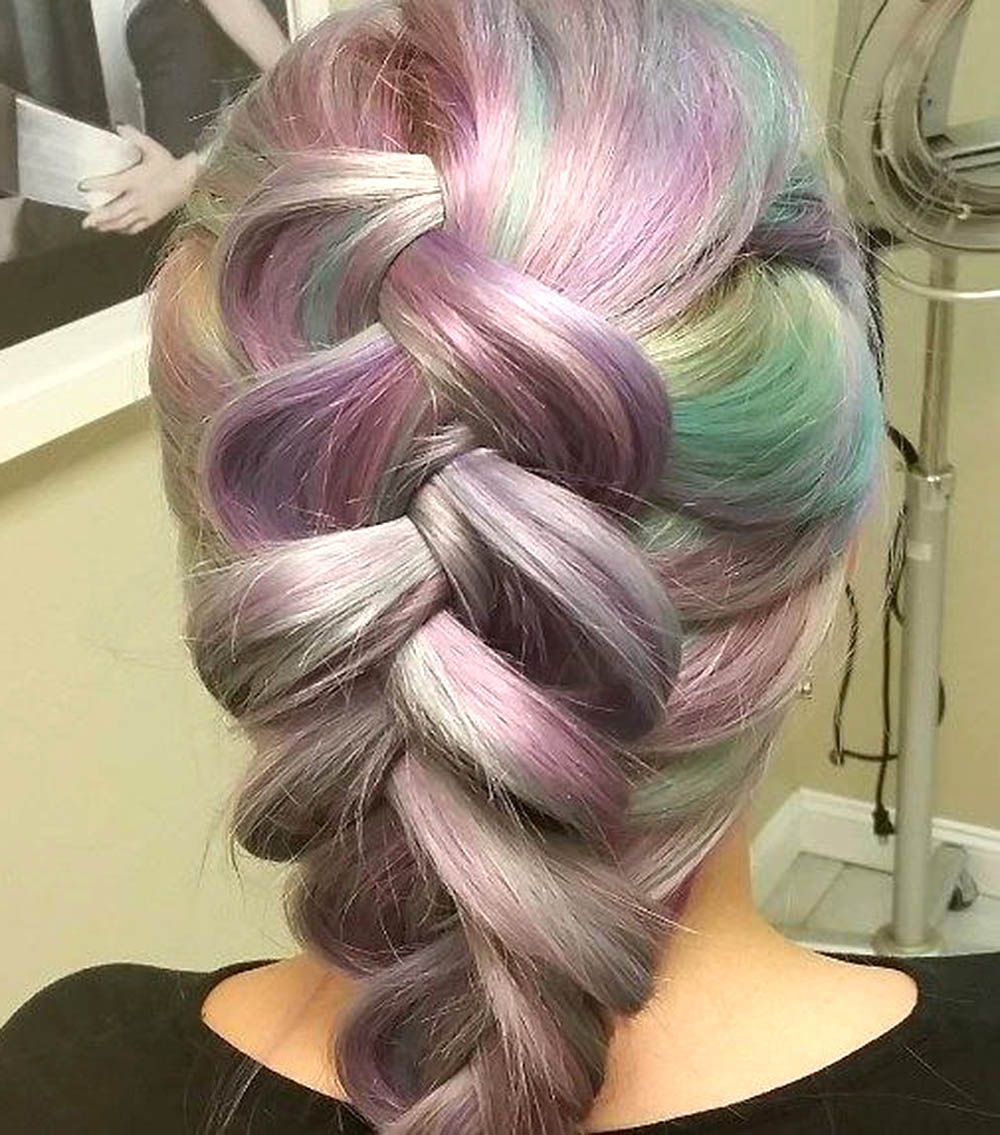 opal hair braided