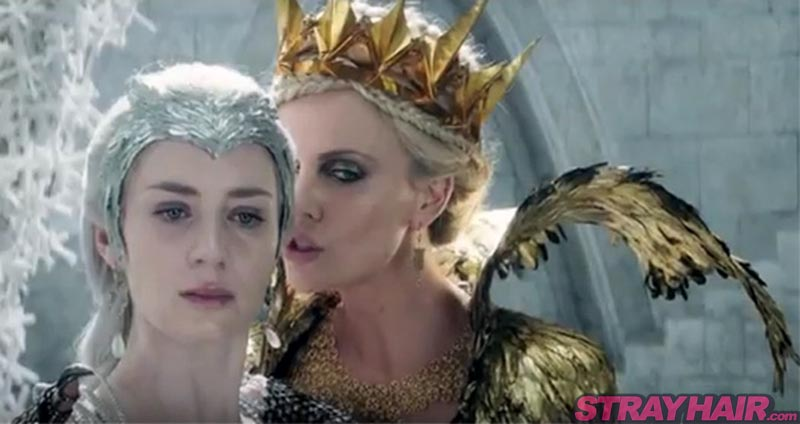 Charlize Theron Emily Blunt The Huntsman Winters War