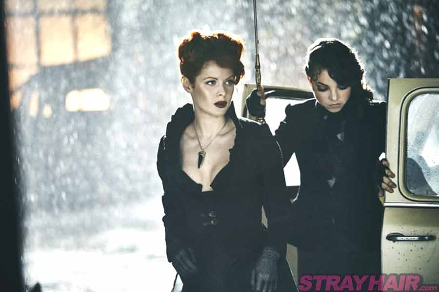 The Widow Emily Beecham Into the badlands redhead ginger hairstyle